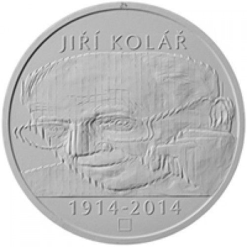 Stříbrná pamětní mince 500 Kč Kolář